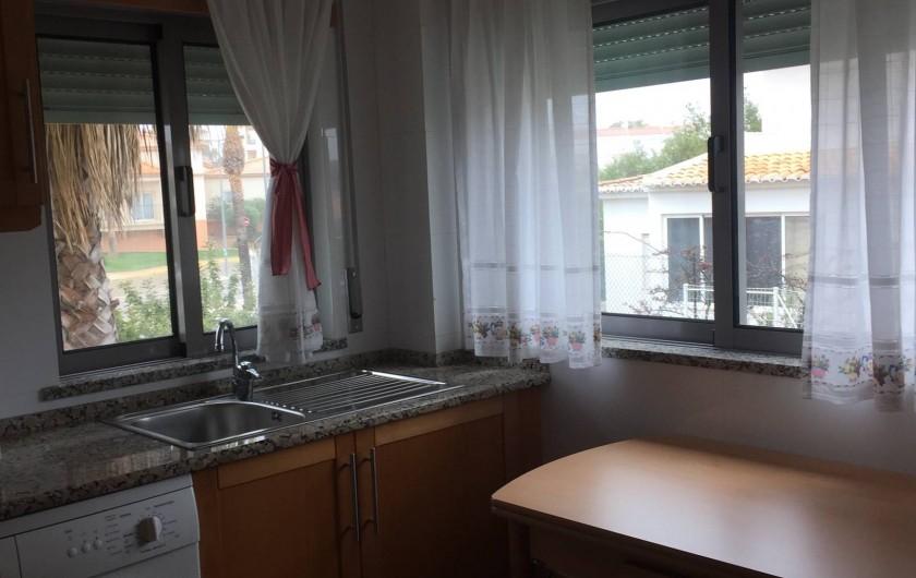 Location de vacances - Appartement à Olhos de Água - Cuisine équipée