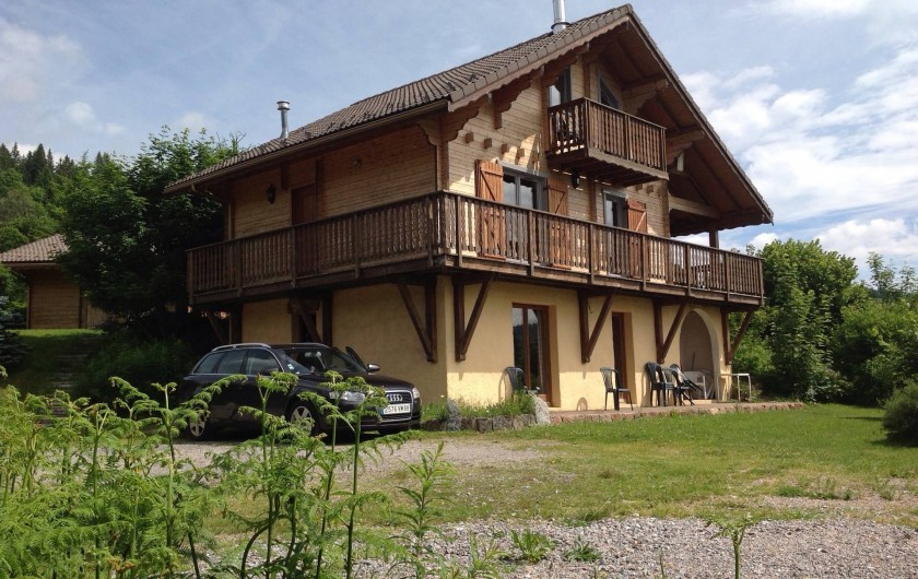 Location de vacances - Chalet à La Bresse - Vue du chalet I Le Monatgnard I La Bresse