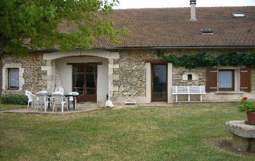 Location de vacances - Gîte à Saint-Pantaly-d'Ans - Entrée de la location