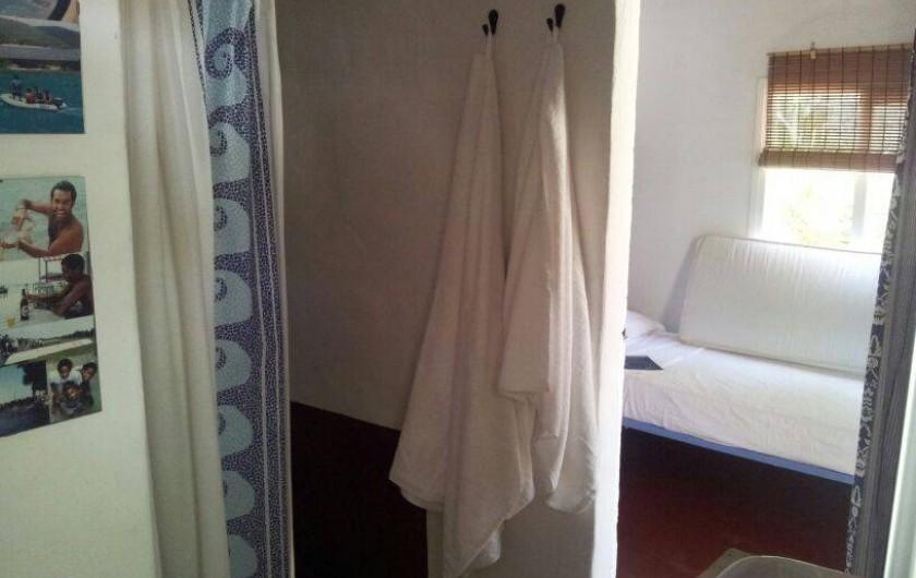 Location de vacances - Villa à Cap de Barbaria - Independent Annex with a small bedroom and a salle de douche