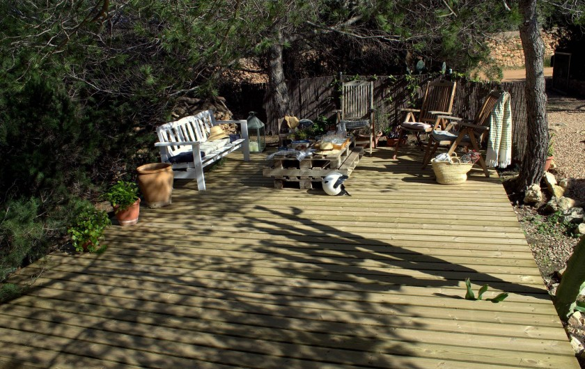 Location de vacances - Villa à Cap de Barbaria - Chill-out area in standard format