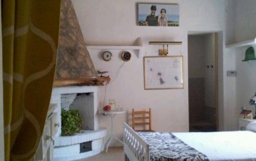 Location de vacances - Villa à Cap de Barbaria - Main room with a salle de douche en suite