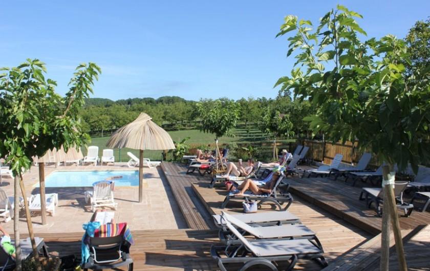 Location de vacances - Camping à Veyrines-de-Domme