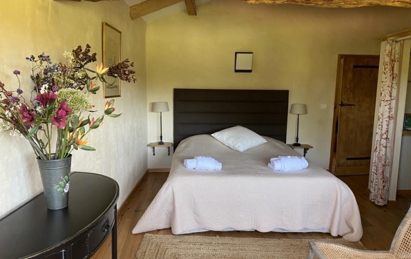 Location de vacances - Maison - Villa à Marzens - chambre Blanche