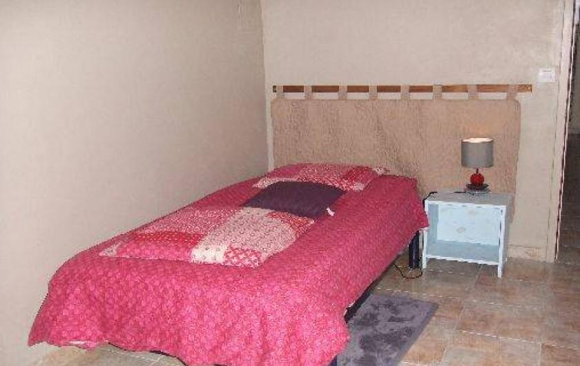 Location de vacances - Villa à Perros-Guirec - pièce de repos en rez-de-jardin