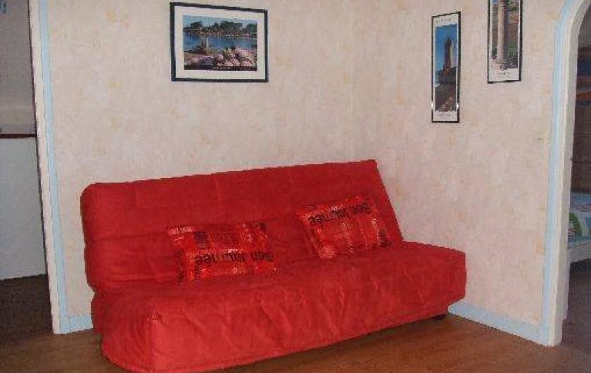 Location de vacances - Villa à Perros-Guirec - Salon d'étage -