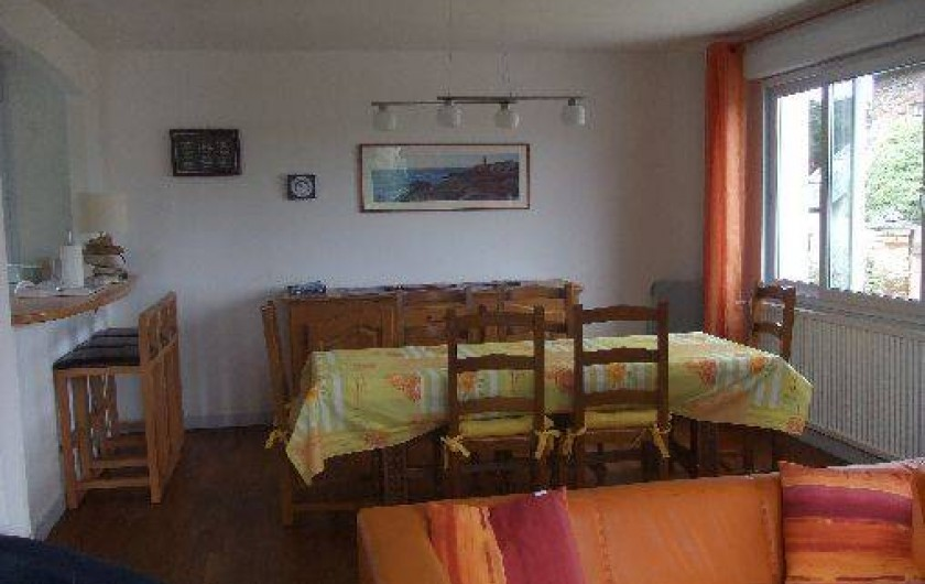 Location de vacances - Villa à Perros-Guirec - Salle à manger