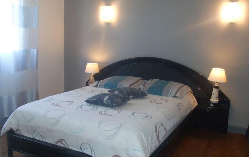 Location de vacances - Villa à Perros-Guirec - chambre - 2 personnes - niveau salon -