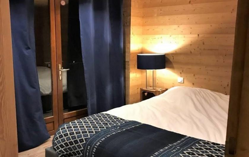 Location de vacances - Chalet à Les Avanchers-Valmorel - chambre 3 2 places  chambre 4  2 places 1 salle de bain + 1 toilette