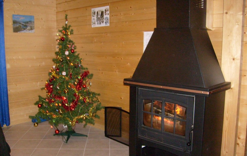Location de vacances - Chalet à Saint-Maurice-sur-Moselle - La Cheminée à Noel