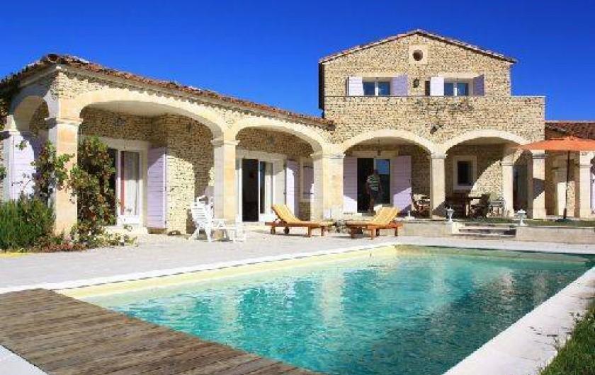 Location de vacances - Villa à Gordes