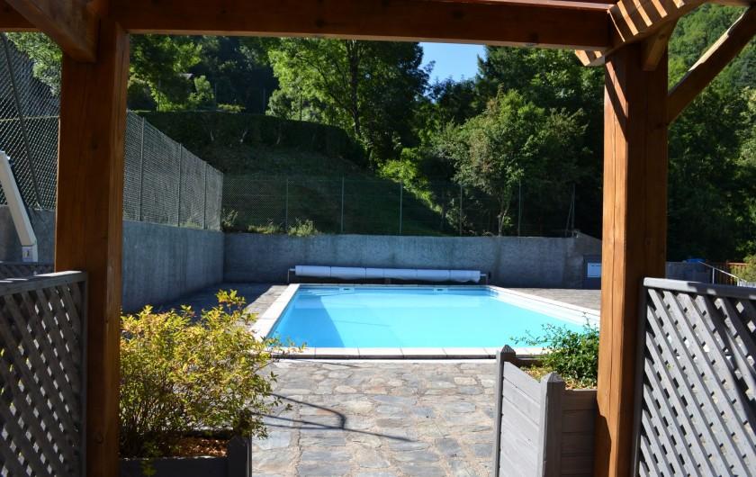 Location de vacances - Gîte à Lacrouzette - Hameau de Thouy - Tarn -      Sidobre en Occitanie La Vallée piscine
