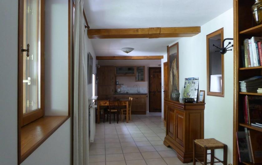 Location de vacances - Chambre d'hôtes à Oris-en-Rattier - accueil et coin cuisine