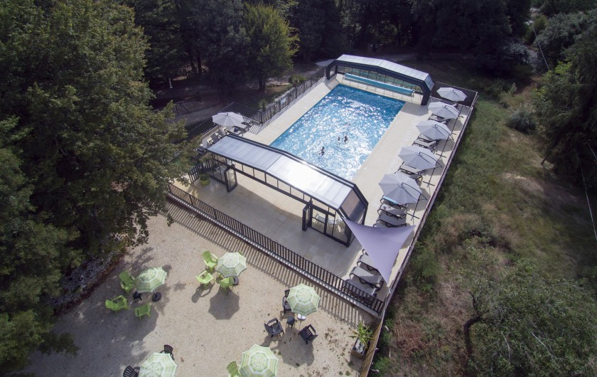 Location de vacances - Gîte à Calviac-en-Périgord - piscine ouvert  de 10h00 à 22h00