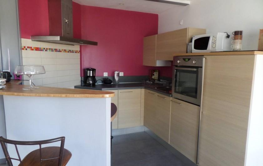 Location de vacances - Maison - Villa à Erquy - Pièce principale, cuisine