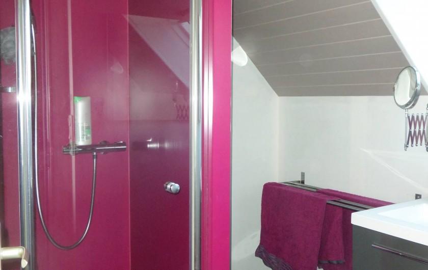 Location de vacances - Maison - Villa à Erquy - Salle de bain étage