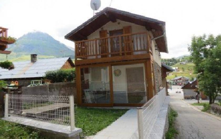 Location de vacances - Gîte à Albiez-Montrond