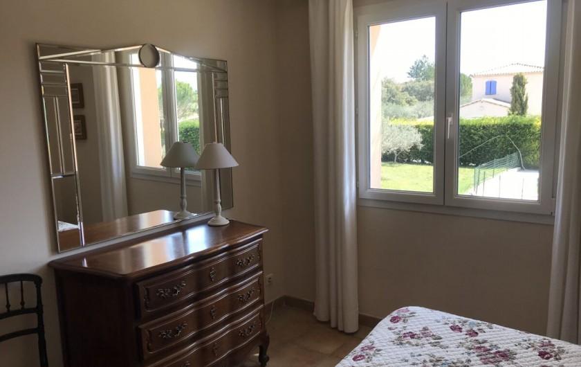 Location de vacances - Villa à Mormoiron - Chambre 1 160x200cm