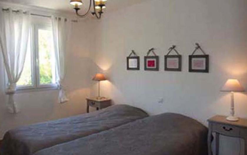 Location de vacances - Villa à Mormoiron - Chambre 2