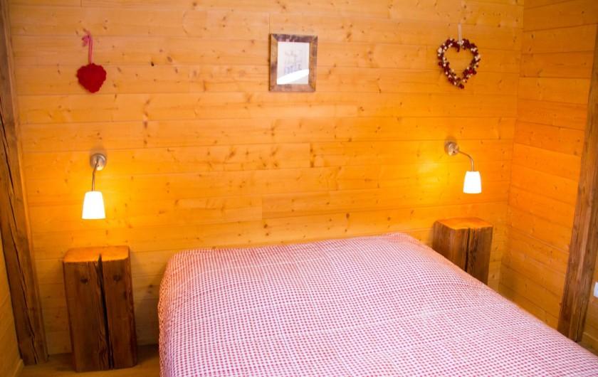 Location de vacances - Chalet à Sainte-Marie-aux-Mines - chambre 2 personnes