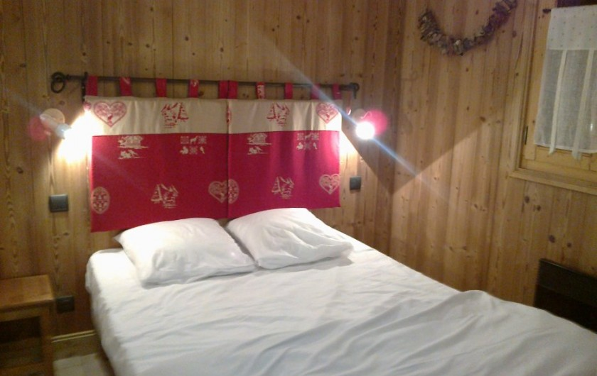 Location de vacances - Appartement à Valloire - Chambre 1