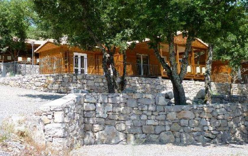 Location de vacances - Chalet à Saint-Alban-Auriolles - Belle ile, location de vacances 7/9personnes, chalet Sud Ardèche Rev'o Thijol