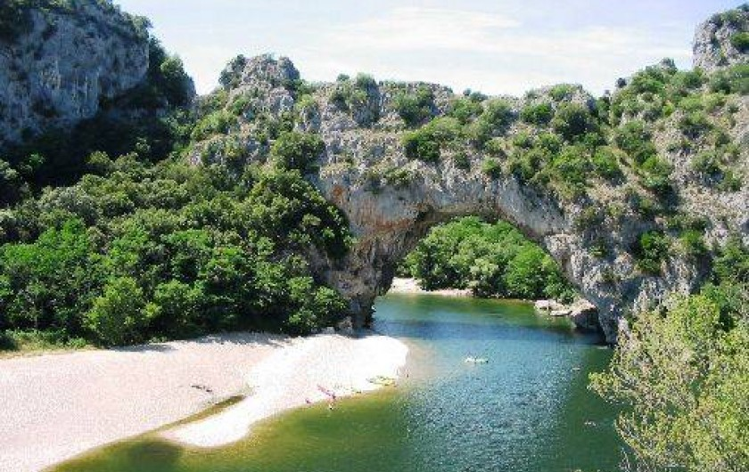 Location de vacances - Chalet à Saint-Alban-Auriolles - Le pont d'arc,  chalet Sud Ardèche Rev'o Thijol
