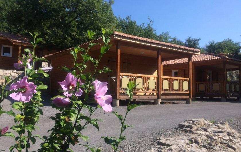 Location de vacances - Chalet à Saint-Alban-Auriolles - Location de vacances,chalet Sud Ardèche Rev'o Thijol