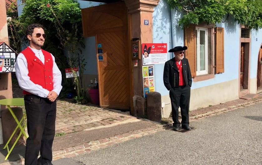 Location de vacances - Gîte à Ribeauville - Bienvenue chez vous !