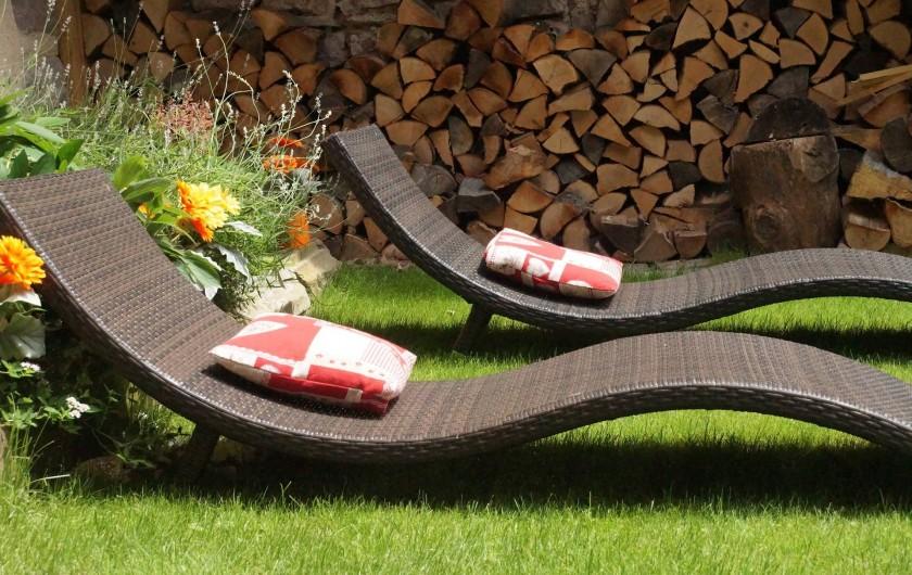 Location de vacances - Gîte à Ribeauville - Bains de Soleil du Gîte Alsacien