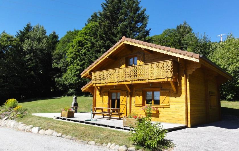 Location de vacances - Chalet à Basse-sur-le-Rupt