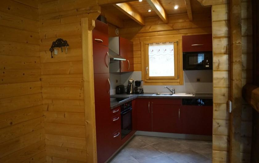 Location de vacances - Chalet à Basse-sur-le-Rupt - Cuisine intégrée