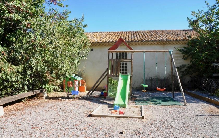 Location de vacances - Chambre d'hôtes à Frontignan - Aire de jeux pour enfant