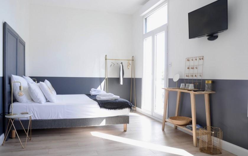 """Location de vacances - Chambre d'hôtes à Frontignan - Chambre 4 personnes """"Classic"""""""