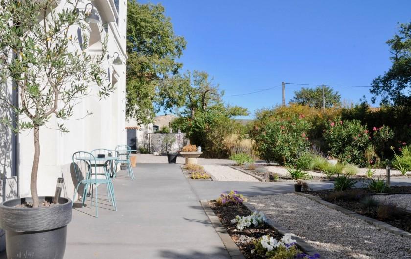 Location de vacances - Chambre d'hôtes à Frontignan - Jardin