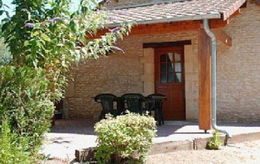 Location de vacances - Gîte à Auriac-du-Périgord - Entrée  Studio