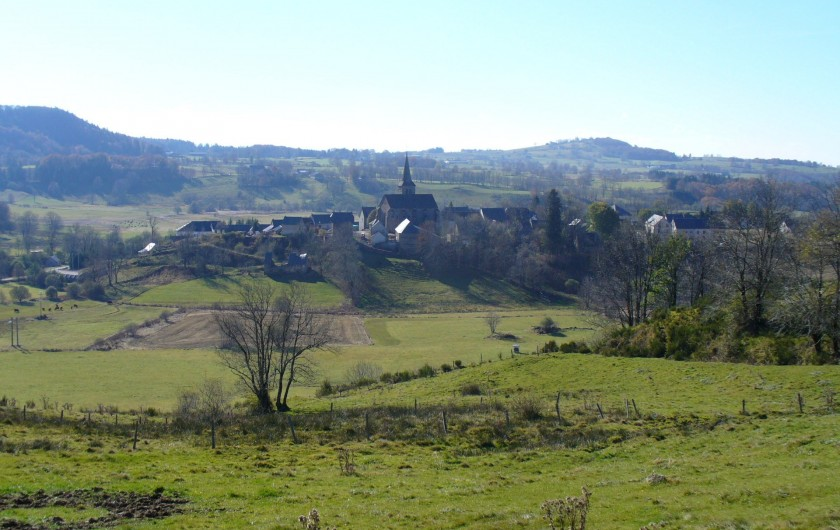 Location de vacances - Chalet à Chastreix - le village de Chastreix