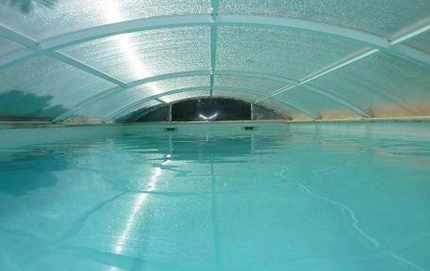 Location de vacances - Villa à La Ciotat - Piscine couverte