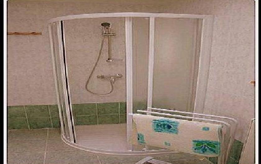Location de vacances - Gîte à Villecomtal - salle d eau