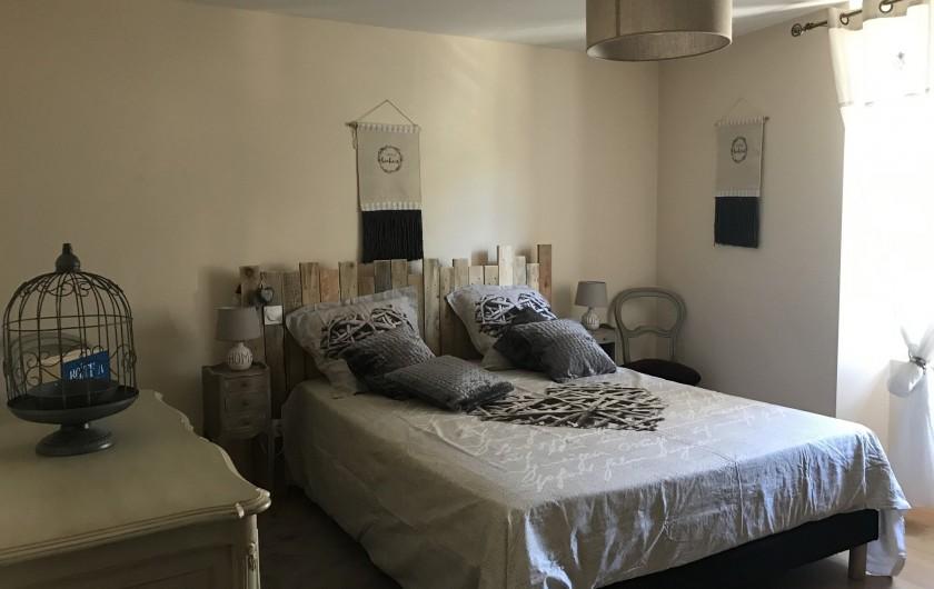 Location de vacances - Gîte à Buis-les-Baronnies - chambre 1  Lit en 160