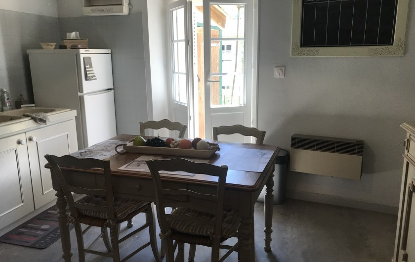 Location de vacances - Gîte à Buis-les-Baronnies - cuisine 1er étage