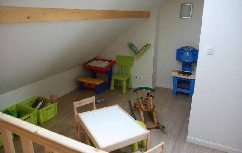 Location de vacances - Chalet à Saint-Hilaire - Salle de jeux pour les Enfants, coin TV