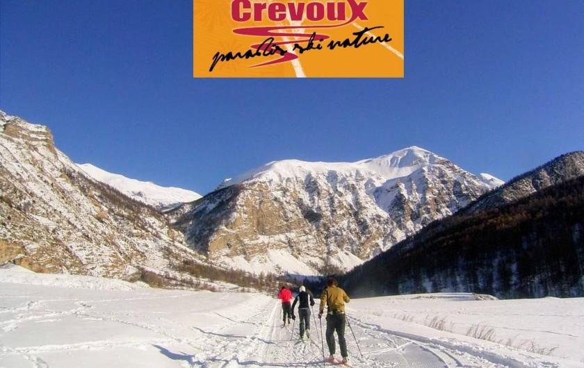 Location de vacances - Villa à Embrun - Ski de fond, raquettes, chiens de traîneaux à 10mn (Crévoux-la Chalp)