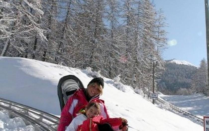 Location de vacances - Villa à Embrun - Luge sur rails aux Orres;nombreuses activités pour enfants, gardés ou libres