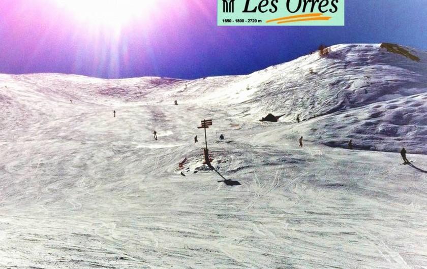 Location de vacances - Villa à Embrun - Aux Orres, 30 remontées et 40 pistes de 1650 à 2720m d'altitude