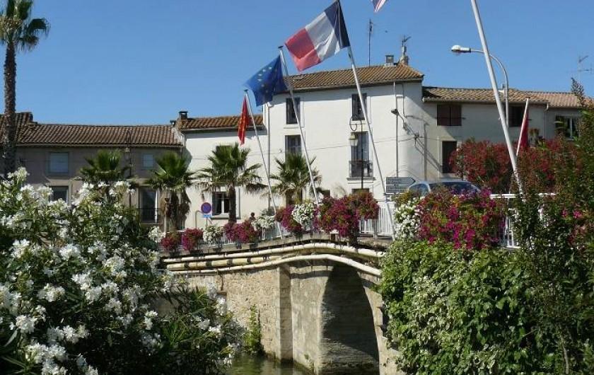 Location de vacances - Chambre d'hôtes à Villeneuve-lès-Béziers - La Maison du Canal, au bord du Canal du Midi