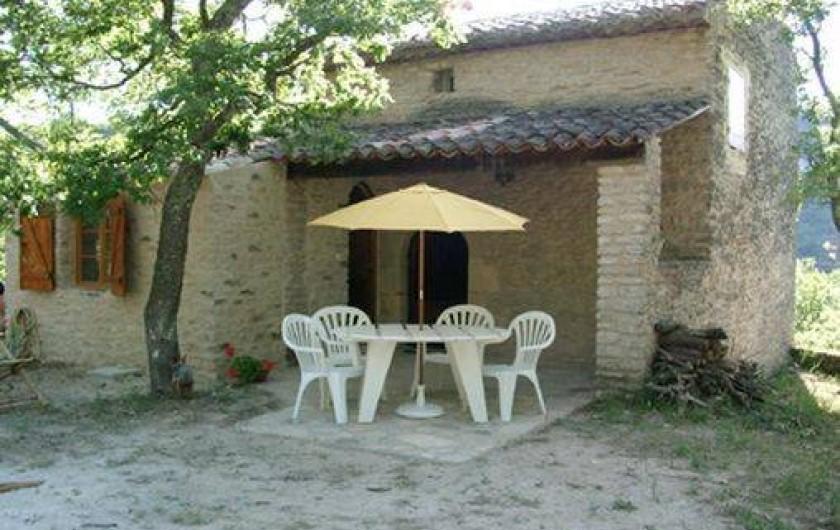 Location de vacances - Gîte à Goult - La terrasse