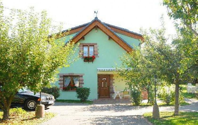 Location de vacances - Gîte à Gertwiller