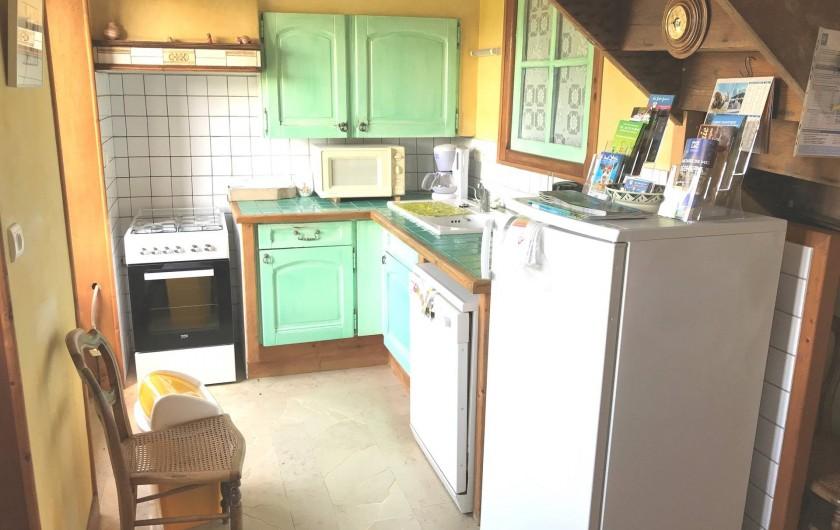 Location de vacances - Appartement à Chanaz - Cuisine