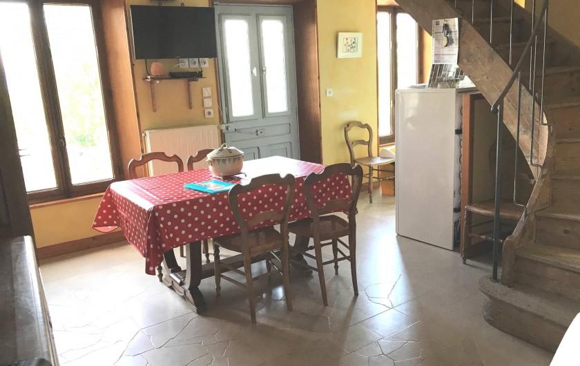 Location de vacances - Appartement à Chanaz - Coin repas